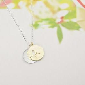 Bird On The Branch Necklace, Double..