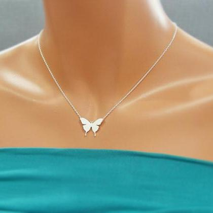 Butterfly Necklace, Symbol of New L..