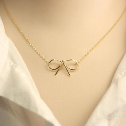 Ribbon necklace, Tying The Knot, Fo..