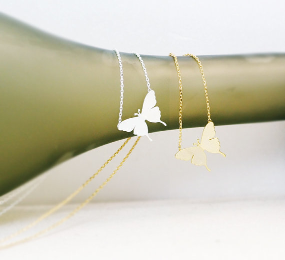 Butterfly Necklace, Symbol of New Life, Graduations Gift